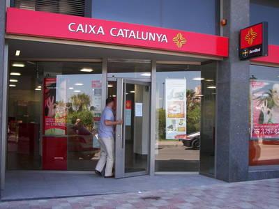 Caixa Cataluña. Oficina.