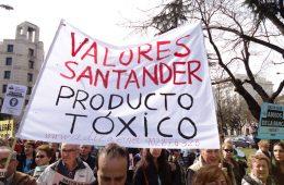 Manifestación organizada por ADICAE (03/03/2012)