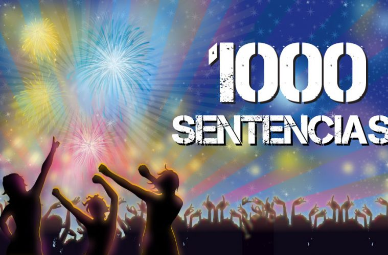 1000 sentencias