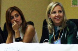 Patricia Suarez (presidenta Asuapedefin) Ma Jose Lunas (abogada)