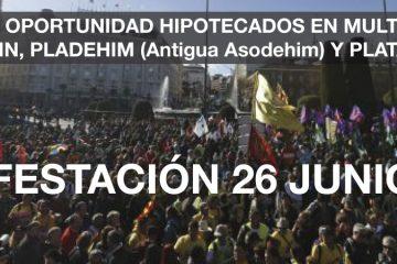 Manifestación 26 junio 2015