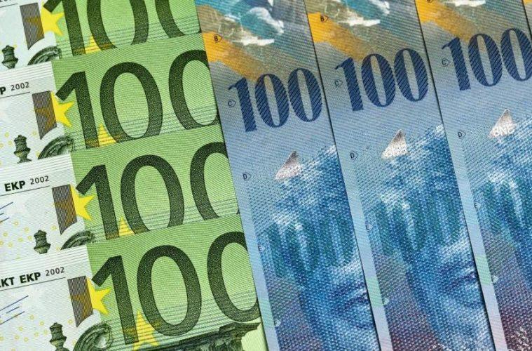 Euros, Divisas