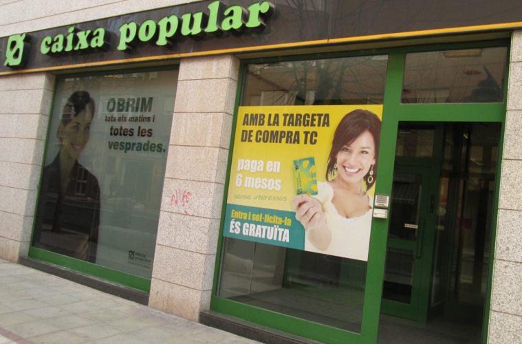 Valencia anula dos cl usulas de una hipoteca irph emitida for Oficinas de caixa popular en valencia