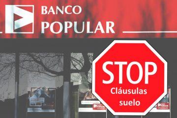 Suelo Banco Popular Asufin