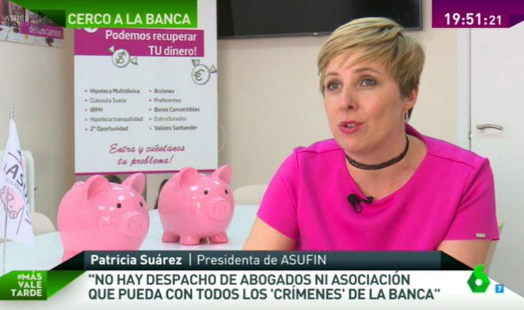 Mas Vale Tarde - La Sexta - Patricia Suarez - Asufin