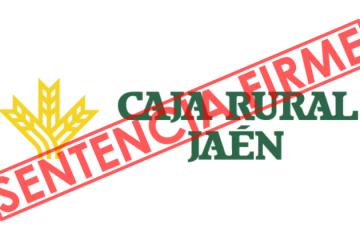 C_RURAL_JAEN_SENTENCIA_FIRME_ASUFIN