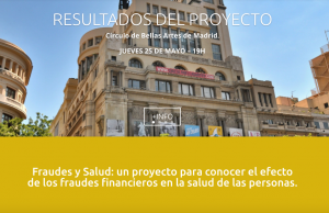 Finsalud presenta los resultados de su proyecto en el Círculo de Bellas Artes @ Círculo de Bellas Artes | Madrid | Comunidad de Madrid | España