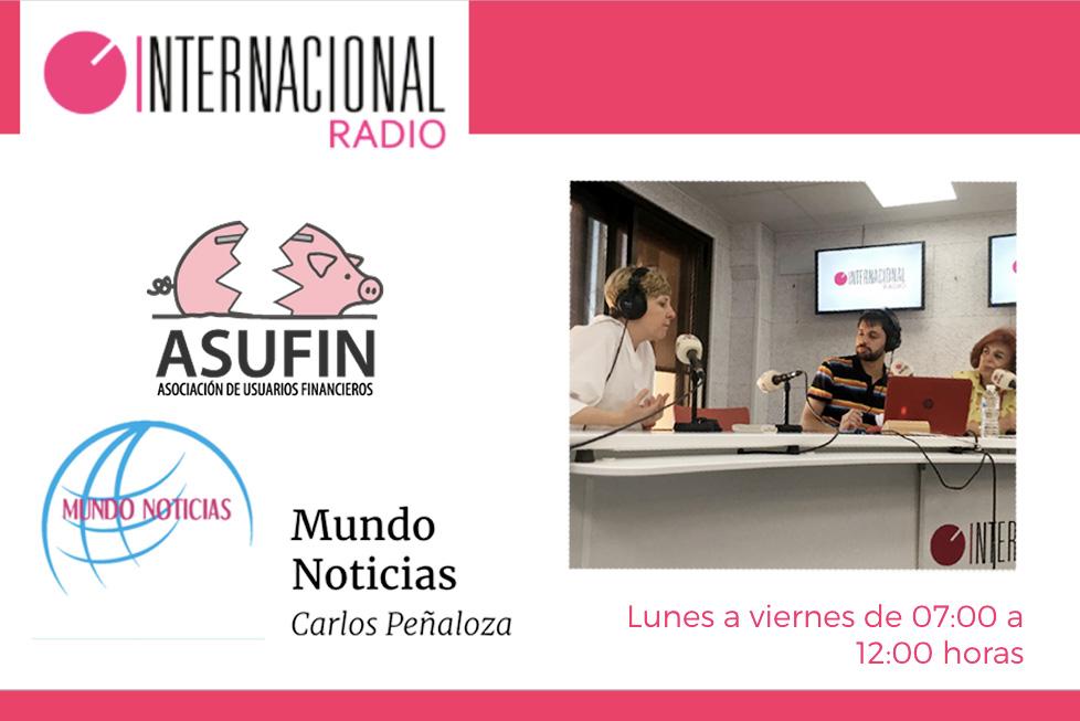 Asufin sobre sus 8 a os de historia y abusos bancarios radio internacional 26 7 17 asufin
