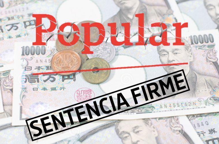 Hipoteca multidivisa sentencia firme de asufin contra el for Hipoteca clausula suelo banco popular